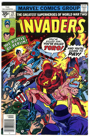 Invaders #21 35c Price Variant Edition