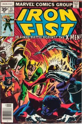 Iron Fist #15 35c Price Variant