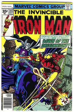 Iron Man #102 35c Variant