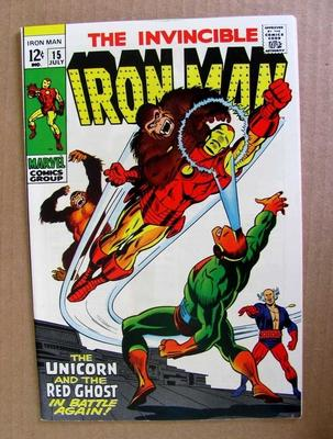 Iron Man #15 Value?