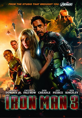 Iron Man 3 was the latest in a line of successful releases for Marvel's movie studios