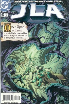 Origin and First Appearance, Queen of Fables, JLA #47, DC Comics, 2000. Click for value