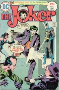 Joker Comics #1: first solo Joker comic, Penguin and Riddler on cover