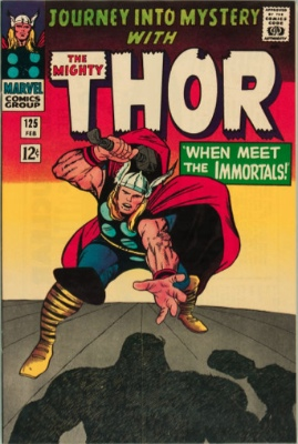 Journey into Mystery #125: Final Issue of Series before Thor Marvel Comics series begins. Click for value