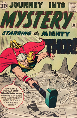 Journey Into Mystery #86 (November 1962): First Full Appearance of Odin. Click for value