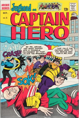 Jughead as Captain Hero #1. Click for value