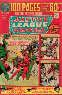Origin and First Appearance, Golden Eagle, Justice League of America #116, DC Comics, 1975. Click for value