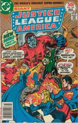 Origin and First Appearance, Manhunters, Justice League of America #140, DC Comics, 1977. Click for value