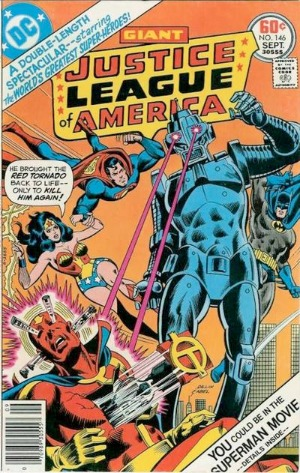 Justice League of America #146: Hawkgirl joins the JLA