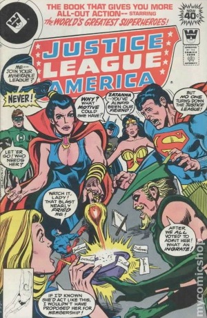 Justice League of America #161: Zatanna joins the JLA