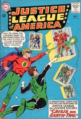 Justice League of America #22: JSA returns in the Silver Age. Click for values