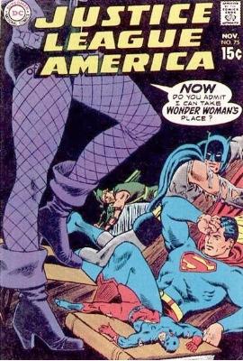 JLA #75 Green Arrow joins the JLA