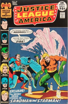 Origin and First Appearance, Merlyn, Justice League of America #94, DC Comics, 1971. Click for value