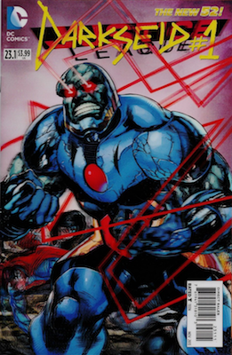 Justice League #23.1 / Darkseid #1 (DC, 2013): Darkseid Origin Story. Click for values