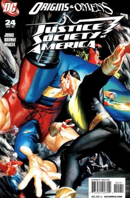 Origin and First Appearance, King Chimera, Justice Society of America (vol. 3) #24, DC Comics, 2009. Click for value