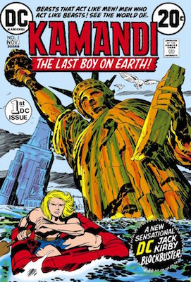 Kamandi #1, 1st Appearance. Click for values
