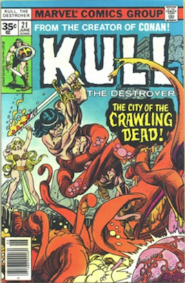 Kull the Conqueror #21 35c Price Variant