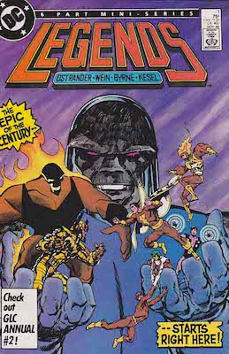 Amanda Waller: First Appearance, Legends #1. Click for value