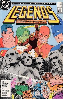 The little-known Legends mini-series has not one, but two key issues for Suicide Squad comic buyers. The most important is the first re-appearane of the squad in the Copper Age. Click for value