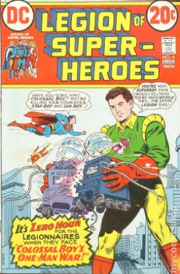 Legion of Superheroes mini series, 1973
