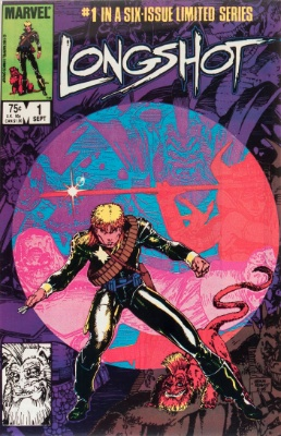 Origin and First Appearance, Longshot, Longshot #1, Marvel Comics, 1985. Click for value