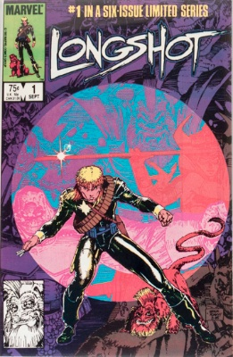 Origin and First Appearance, Spiral, Longshot #1, Marvel Comics, 1985. Click for value