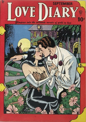 Love Diary #1: Rare, first issue of the series. Click for value