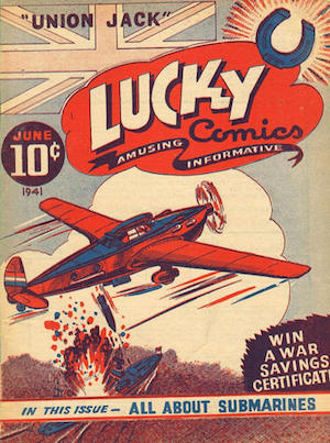 Canadian Whites: Maple Leaf Publishing, Lucky Comics v1 #1