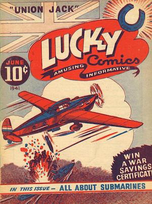 Canadian Whites: Maple Leaf Publishing, Lucky Comics v1 #1
