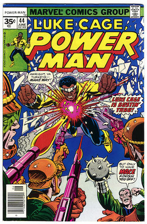 (Luke Cage) Power Man #44 Marvel 35c Variant