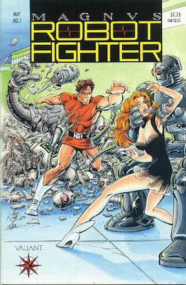 Magnus, Robot Fighter 4000 A.D. Origin and first appearance of Magnus Robot Fighter. Click for values