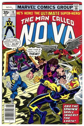 (Man Called) Nova #10 35c Price Variant