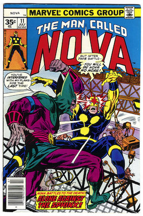 (Man Called) Nova #11 Marvel 35 Cent Price Variant