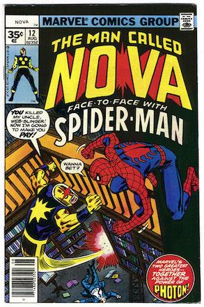 (Man Called) Nova #12 Marvel 35c Price Variant