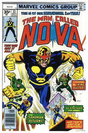 (Man Called) Nova #13 35c Price Variant