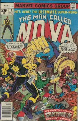 (Man Called) Nova #14 35 Cent Price Variant