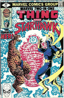 Marvel Two-in-One #61; The coming of