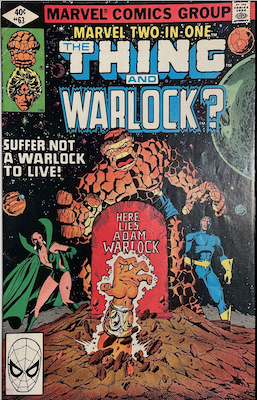 Marvel Two-in-One #63; The coming of