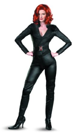 Your girlfriend can look THIS good in a Black Widow costume!