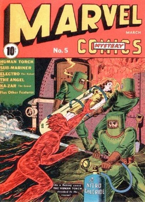 Marvel Mystery Comics #5 from 1940