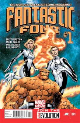 Marvel NOW! Fantastic Four #1