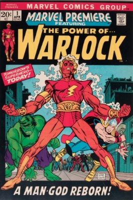 Origin and First Appearance, Adam Warlock Marvel Premiere #1, Marvel Comics, 1972