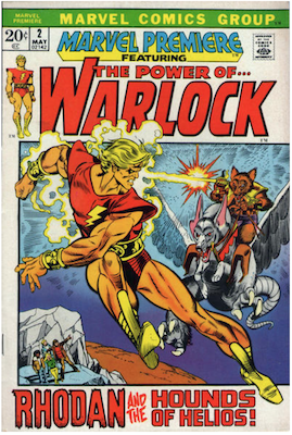 Marvel Premiere #2 (May, 1972): Warlock. Click for values