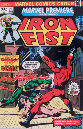 Marvel Premiere #23 (August, 1975): Iron Fist; First Appearance, Warhawk. Click for values