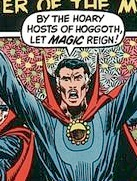 Marvel Premiere #3 featured the Mystic Master on the cover, and his corny catchphrase!
