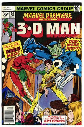 Marvel Premiere #36 Marvel 35c Price Variant