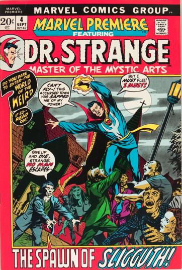 Marvel Premiere #4 (September, 1972): Dr. Strange. Click for values