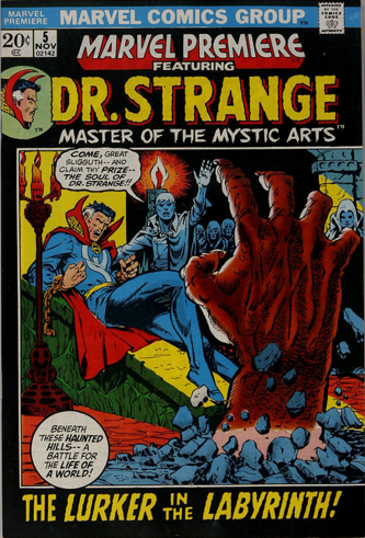 Marvel Premiere #5 (November, 1972): Dr. Strange. Click for values
