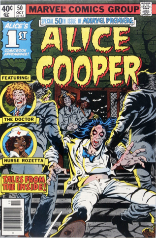 Marvel Premiere #50 (October, 1979): Alice Cooper. Click for values