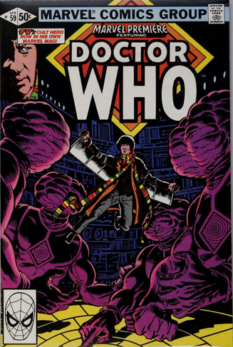 Marvel Premiere #59 (April, 1981): Doctor Who. Click for value